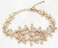 Браслет Flowers Crystal (ab76)
