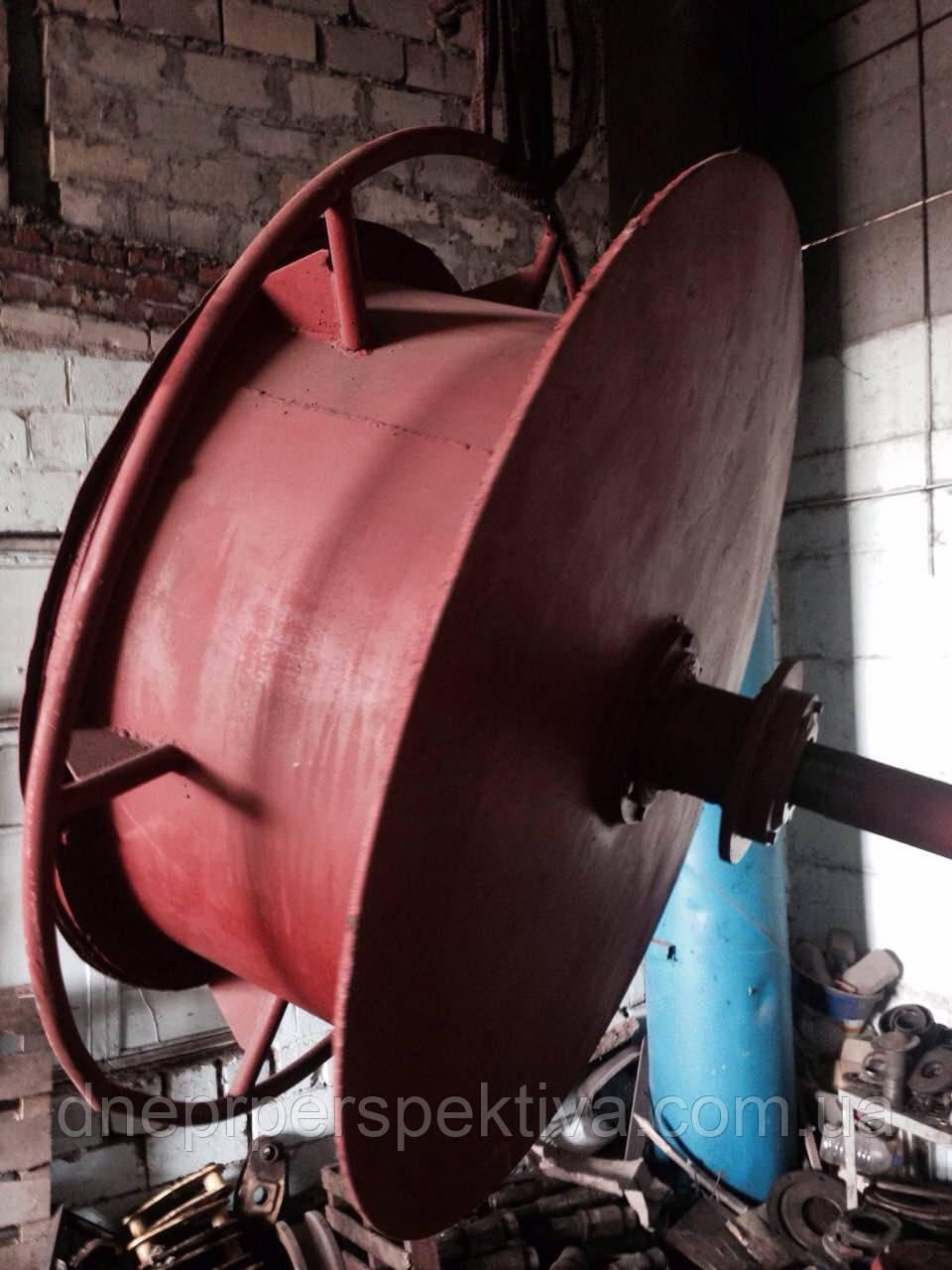 Кабельный барабан козлового крана КК, ККС в сборе с приводом