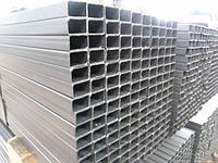 Труба  алюминиевая прямоугольная 60х50 мм 6060 Т6
