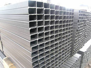 Труба  алюминиевая прямоугольная 120х60 мм 6060 Т6 120х60х4