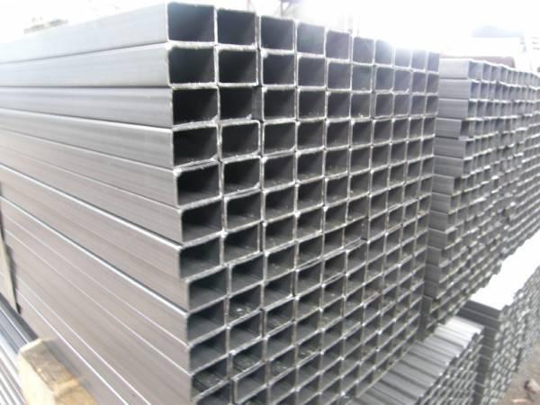 Труба  алюминиевая прямоугольная 80х50 мм 6060 Т6 80х50х3, фото 2