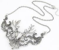 Ожерелье колье состаренное серебро tb1223