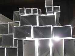 Труба  алюминиевая прямоугольная 30х20х2 мм 6060 Т6 профиль АД31Т, экструзия, фото 2