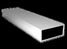 Труба  алюминиевая 40х25 мм 6060 Т6 прямоугольная, фото 3