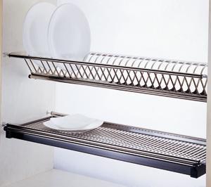 Сушка нержавійка для посуду 800 мм