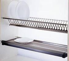 Сушка нержавійка для посуду 400 мм