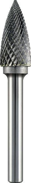 Бор-фреза Alpen по металлу Ø 12x70 мм с заостренной головкой - ООО «Торговая компания «Инсел» в Киеве