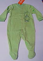 Комбинезон Для малышей Зеленый 80 см 9 м. Интерлок 03077001135 КБ77п Бэмби Украина