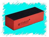 Бафик для ногтей Starlet Professional,четырехсторонний полировочный блок БАФИК
