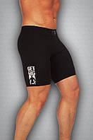 Мужские спортивные шорты черные