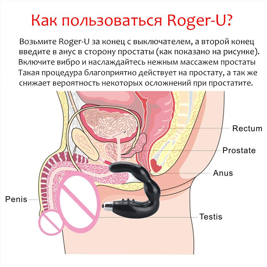 Массажер простаты Roger-U