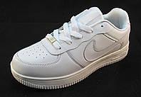 Кроссовки женские Nike Air Force белые (аир форсы) (р.36,39,41)