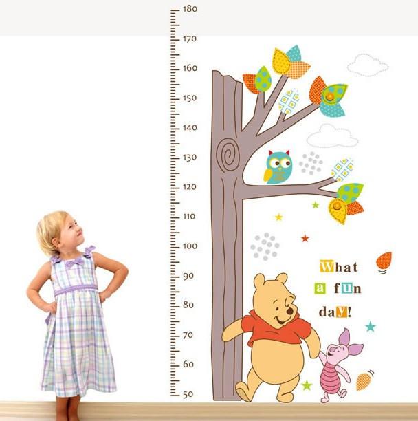 Наклейка ростомір Вінні Пух (ABC1020)