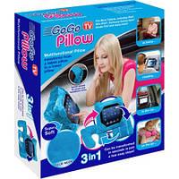 Универсальная подушка трансформер Gogo Pillow 3 в 1, подушка, подголовник, чехол для планшета