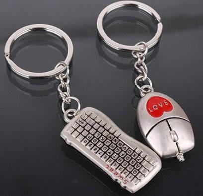 Парные брелки для влюбленных - Мышка и Клавиатура, фото 2