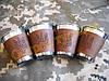Стопки 80 мл набір 4 шт тризуб, фото 2
