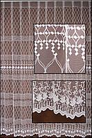 Гардины  на окна белые пошив на тесьму