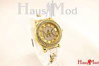 Женские часы наручные Michael Kors белые (копия)