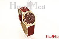 Женские часы наручные GUCCI красные (копия)