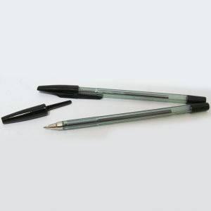 """Ручка шариковая """"Beifa"""" черная №927, фото 2"""