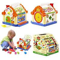 Развивающая игрушка сортер 9196 Теремок для малышей. ( KI- 7047 )