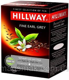 Чай черный с бергамотом Hillway / Хиллвэй Fine Earl Grey, листовой, 100 г