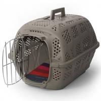 Переноска для собак и кошек Imac Carry Sport АЙМАК КЭРРИ СПОРТ, пластик, 48,5х32х34,5см / серый