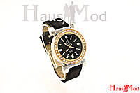 Женские часы наручные Calvin Klein  черные  (копия)