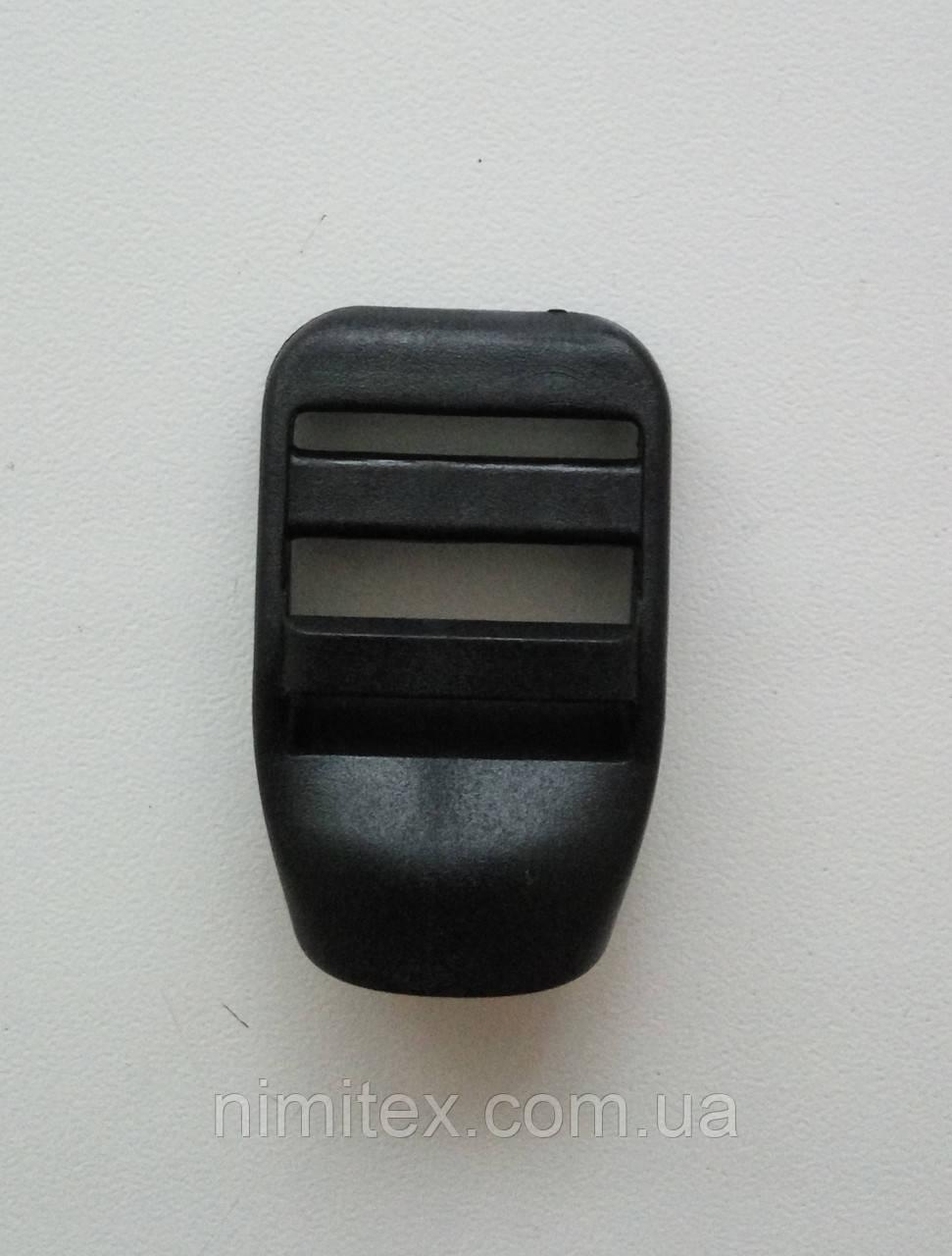 Регулятор трехщелевой пластик 20 мм черный
