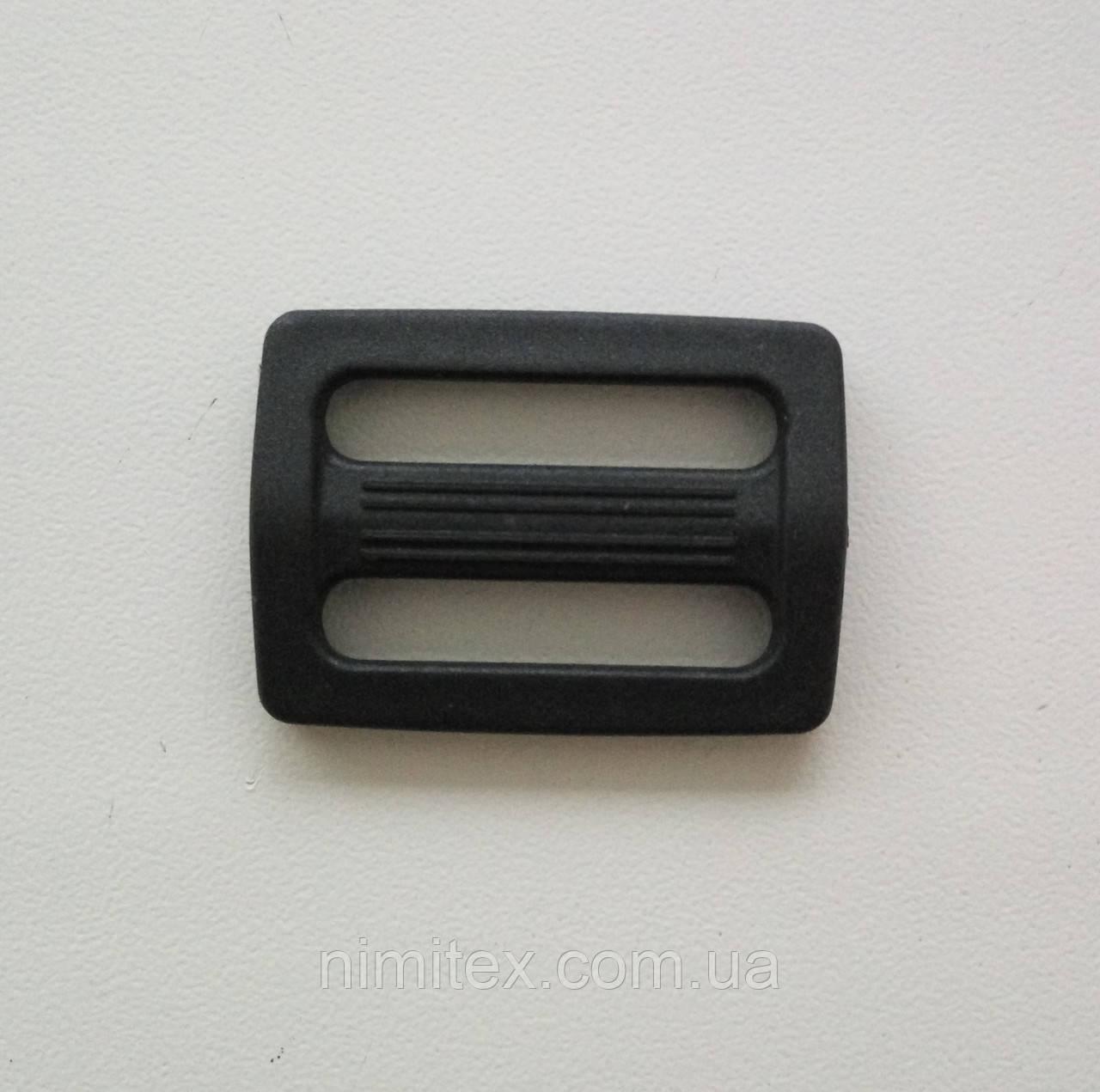 Регулятор пластик 24 мм черный