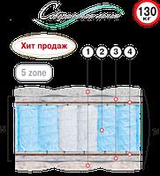 """Матрас пружинный   """" Рубин """" серия Люкс"""