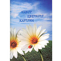 Картон цветной Полиграфсервис ВН-7 А4 10л  235-250г/м