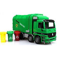 Игрушечные машинки и техника «Big Motors» (9998-17) мусоровоз Чистюля