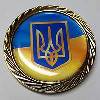 "Медаль ""Герб Украины""-1 ф60  галактика одност. без футляра"
