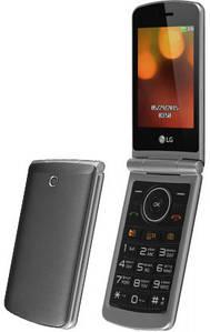 """Кнопочный мобильный телефон (""""раскладушка"""") LG G360 TN titan"""