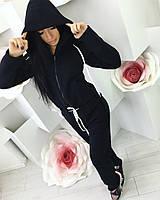 Комбинезон женский Тёплый чёрный