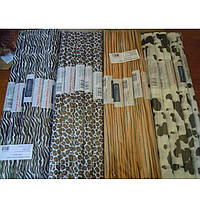 Набор гофрированной бумаги Interdruk 466106 микс 50х200 см пантера