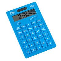 Калькулятор Deli 1657 микс 12 разряд, 178х110х20, пласт кн, неон кольори