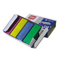 Скобы для степлера Deli 0211 микс №24 800шт/уп цветные