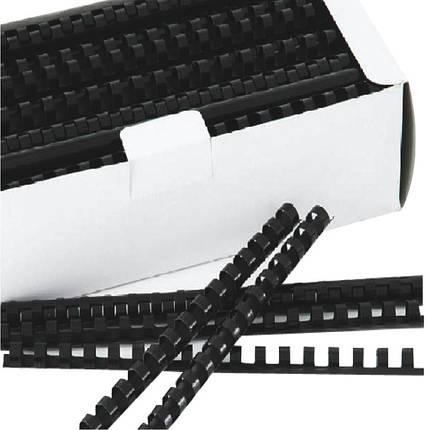 Пружина пластиковая Deli 3833 6мм/100шт/уп, фото 2