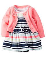 Платье для девочки с кофточкой 24М