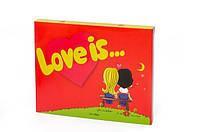 Шоколадный набор  Love is красный на подарок