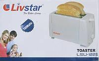 Тостер LivStar LSU-1225, теплоизолированный корпус, 700 Вт, размораживание, подогрев, быстрая остановка