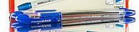 """Ручка шариковая """"Aihao"""" синяя, черная (0.7)  №557А Racing Ball"""