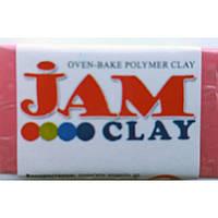 "Глина полим Jam Clay 5018501 малиновый ""Малиновий мус"" мягкая (340501)"