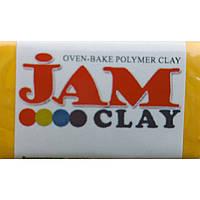 """Глина полим Jam Clay 5018302 желтый """"Солнечный луч"""" мягкая  (340302)"""