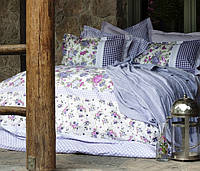 Постельное белье Karaca Home Mina лиловая евро