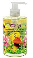 Детское гель-мыло Ясне сонечко антибактериальное с чередой, календулой и цветами ромашки 300 мл