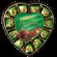 Праліне молочний шоколад фундука та крупи серце 165г