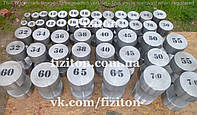 Гантельные ряды от 10 кг без покрытия